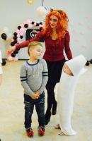 Алина Панькова в образе Вульф